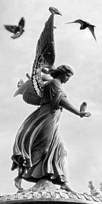 Photograph - Bethesda Angel by Julie VanDore