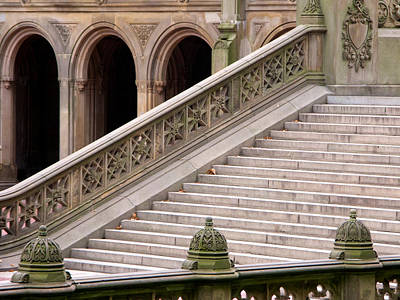 Photograph - Bethesda Arches And Stairs by Cornelis Verwaal
