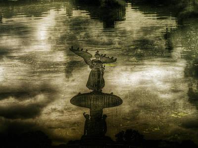 Photograph - Bethesda Fountain Double by Dave Beckerman