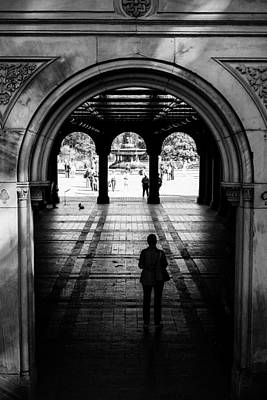 Photograph - Bethesda Terrace by Jose Maciel