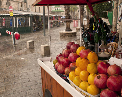 Photograph - Bethlehem Market by Don Wolf