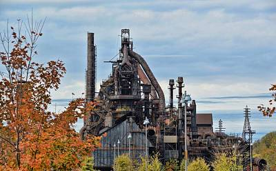 Photograph - Bethlehem Rolling Mill by JAMART Photography