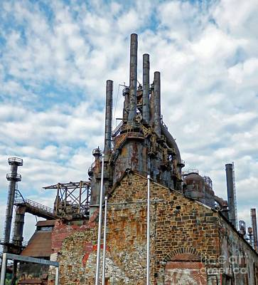 Photograph - Bethlehem Steel # 2 by Marcia Lee Jones