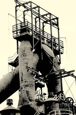 Photograph - Bethlehem Steel # 7 by Marcia Lee Jones
