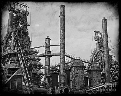 Photograph - Bethlehem Steel #3 by Marcia Lee Jones