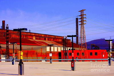 Photograph - Bethlehem Steel Buildings by Marcia Lee Jones