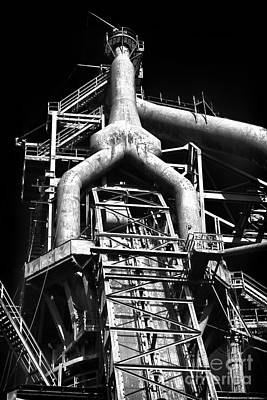 Photograph - Bethlehem Steel Giant by John Rizzuto