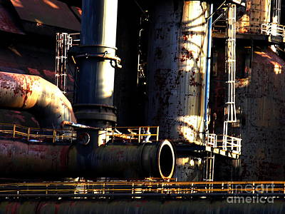 Photograph - Bethlehem Steel - Horizontal - Heavy Metal by Jacqueline M Lewis