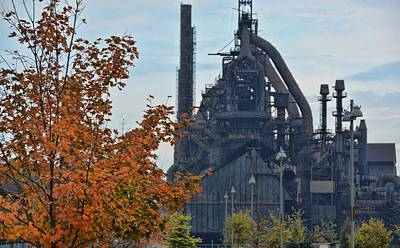 Photograph - Bethlehem Steel by JAMART Photography