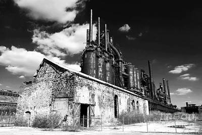 Photograph - Bethlehem Steel by John Rizzuto