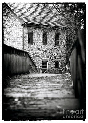 Old School House Photograph - Bethlehem Waterworks by John Rizzuto