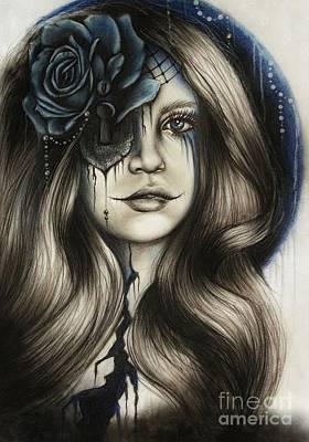 Pop Surrealism Mixed Media - Betrayal by Sheena Pike