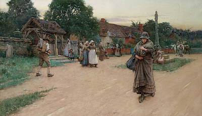 Betrayed Art Print by Walter Langley