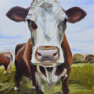 Bales Painting - Betsy by Donna Tuten