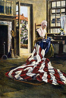 Photograph - Betsy Ross (1752-1836) by Granger