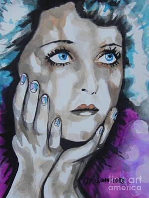 Bette Davis  01 Original by Chrisann Ellis