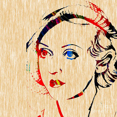 Movie Star Mixed Media - Bette Davis Collection by Marvin Blaine