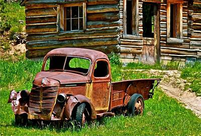 Country Scenes Mixed Media - Better Days by Brent Sisson