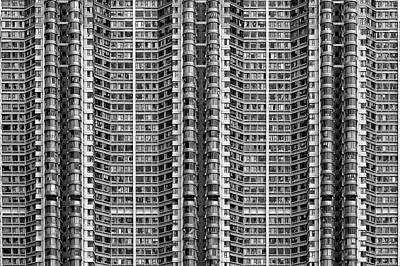 Pattern Photograph - Better Know Where Your Flat Is by Stefan Schilbe