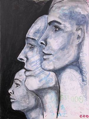 Mixed Media - Better Together by Carrie Todd