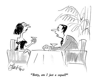 Betty, Am I Just A Sequel? Art Print
