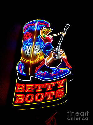 Photograph - Betty Boots by Eve Spring