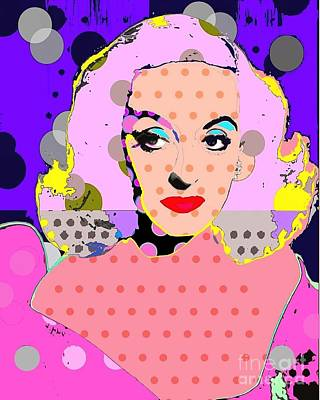 Digital Art - Betty Davis by Ricky Sencion