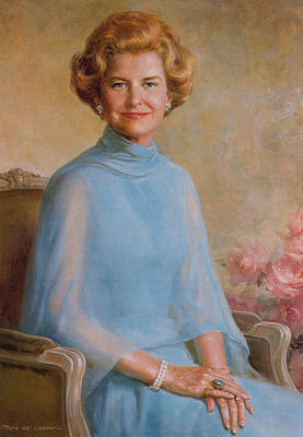 Painting - Betty Ford, First Lady by Science Source