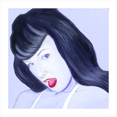 Painting - Bettie by Holly Picano