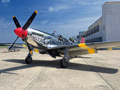 Photograph - Betty Jane - P-51 Mustang by Kristia Adams