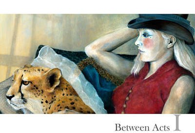 Between Acts 1 Art Print by Katherine DuBose Fuerst