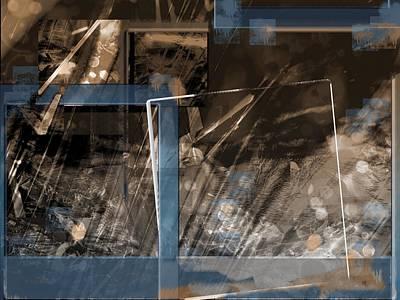 Digital Art - Between Memories by Art Di