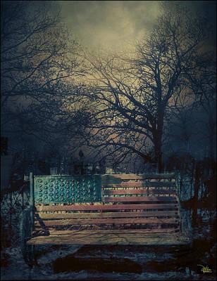 Between Night And Dawn Art Print