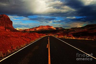 Capital Reef Photograph - Between The Dotted Lines by Sean  Jungo