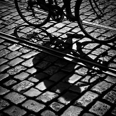 Belgium Photograph - Between The Lines by Dave Bowman