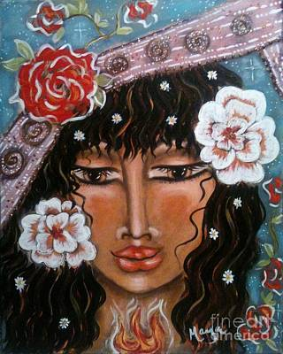 Between The Worlds Art Print by Maya Telford