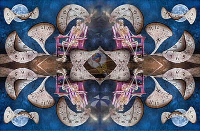 Reptiles Digital Art - Between Time by Betsy Knapp
