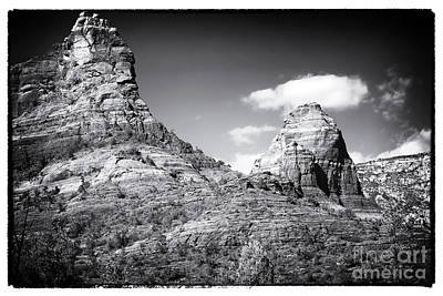 Photograph - Between Two Rocks by John Rizzuto