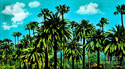Mixed Media - Beverly Hills Jungle by Alicia Hollinger