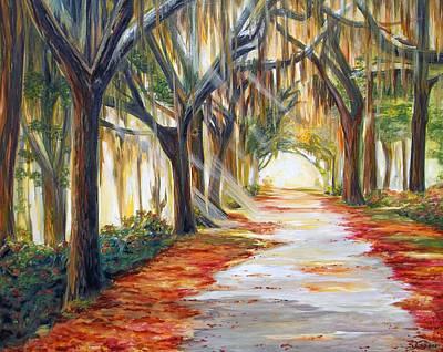 Bev's Path Art Print by Suzanne King