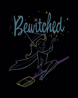Halloween Digital Art - Bewitched - Samantha Paint by Brand A