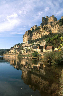 Photograph - Beynac-et-cazenac, France by Frederica Georgia