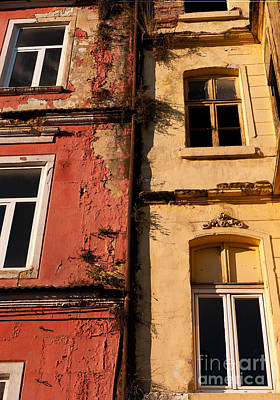 Photograph - Beyoglu Old Houses 02 by Rick Piper Photography