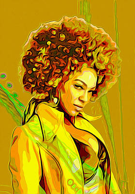 Beyonce 2 Original by  Fli Art