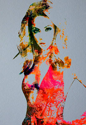 Beyonce Knowles Digital Art - Beyonce Irreplaceable by Brian Reaves