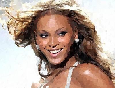 Beyonce Portrait Art Print