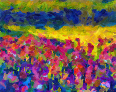Art Print featuring the painting Beyond A Simple Love by Joe Misrasi