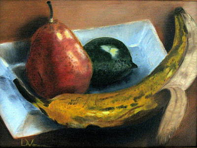 Art Print featuring the painting Beyond Banana Nut Bread by LaVonne Hand
