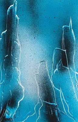 Painting - Beyond Depth by Jason Girard