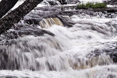Photograph - Beyond Fulmer Falls by Dawn J Benko